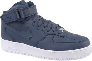 detailed look ee727 0fdd6 Niebieskie buty sportowe Nike ze skóry sznurowane
