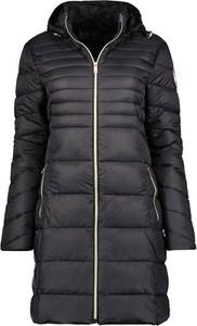 Czarny płaszcz Geographical Norway