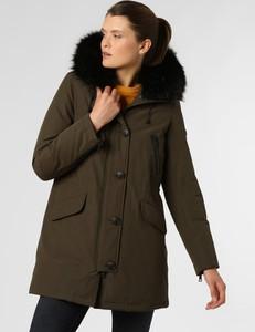 Zielony płaszcz Blonde No. 8 z plaru