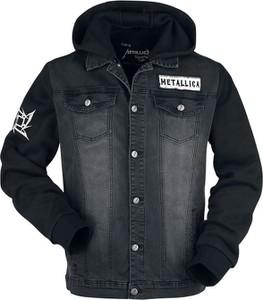 Czarna kurtka Emp w młodzieżowym stylu