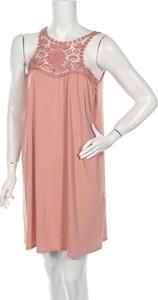 Sukienka Linga Dore bez rękawów z okrągłym dekoltem