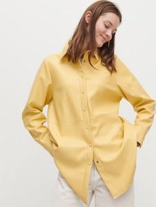 Żółta koszula Reserved ze skóry