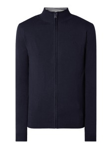 Granatowy sweter McNeal w stylu casual