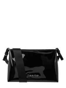 Czarna torebka Calvin Klein w stylu glamour