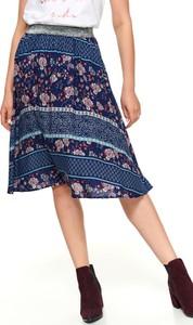 Spódnica Top Secret w stylu vintage midi