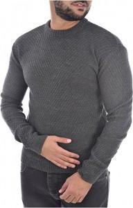 Sweter Goldenim Paris w stylu casual z wełny z okrągłym dekoltem