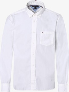 Koszula Tommy Hilfiger z kołnierzykiem button down z długim rękawem