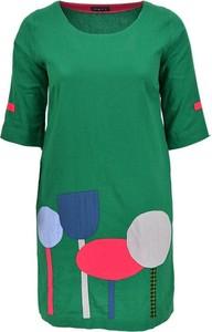 Sukienka Pata mini z krótkim rękawem