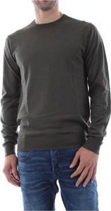 Zielony sweter G-star z wełny