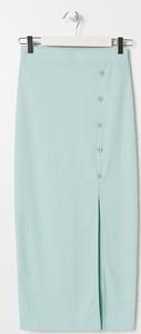Niebieska spódnica Sinsay