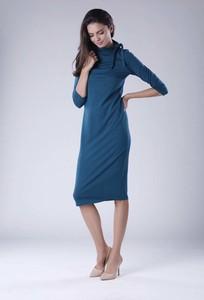 Sukienka Nommo z bawełny midi