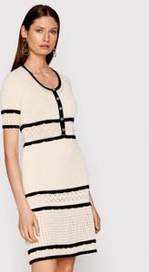 Sukienka Pinko mini w stylu casual z krótkim rękawem