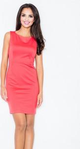 Różowa sukienka Figl mini