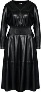 Sukienka Karl Lagerfeld ze skóry