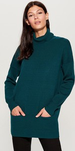 Turkusowy sweter Mohito w stylu casual