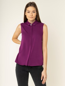 Fioletowy top Guess
