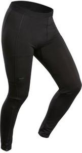 Czarne spodnie sportowe Forclaz z wełny