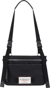 Czarna torba Givenchy ze skóry