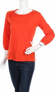 Bluzka Jacqueline Riu z okrągłym dekoltem w stylu casual