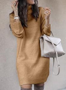 Sukienka Cikelly mini prosta w stylu casual