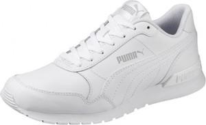 Buty sportowe Puma ze skóry ekologicznej z płaską podeszwą sznurowane