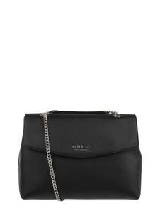 Czarna torebka Guess średnia matowa