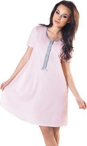 Italian Fashion Koszula ciążowa do karmienia Suri łosoś