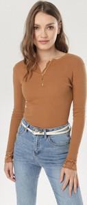 Bluzka born2be z długim rękawem w stylu casual
