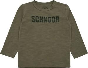 Zielona bluzka dziecięca Petit By Sofie Schnoor dla chłopców