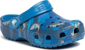 Granatowe buty dziecięce letnie Crocs