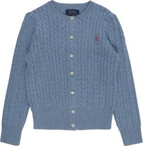 Niebieski sweter POLO RALPH LAUREN z tkaniny