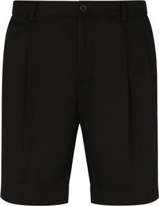Czarne spodenki Dolce & Gabbana w sportowym stylu