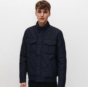 Granatowa kurtka Reserved w stylu casual