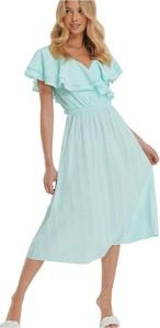 Sukienka NA-KD z krótkim rękawem midi