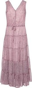 Sukienka DKNY maxi rozkloszowana bez rękawów