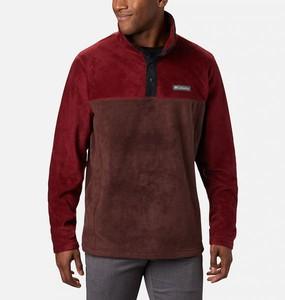 Czerwona bluza Columbia z plaru w sportowym stylu