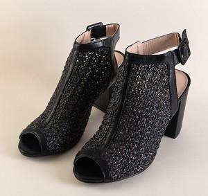 Czarne sandały Royalfashion.pl