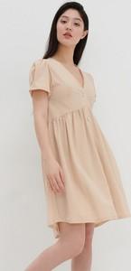 Sukienka House z krótkim rękawem mini