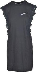 Sukienka Love Moschino mini z bawełny z krótkim rękawem