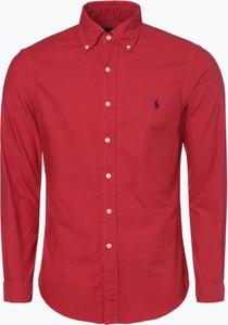 Czerwona koszula POLO RALPH LAUREN z długim rękawem