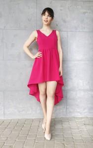 Różowa sukienka Sklepfilloo mini
