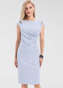Sukienka Apart midi z krótkim rękawem