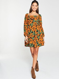 Sukienka V by Very z długim rękawem mini