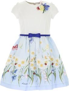 Sukienka dziewczęca Monnalisa w kwiatki