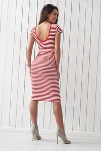 e7442275398c45 sukienka marynarska w paski - stylowo i modnie z Allani