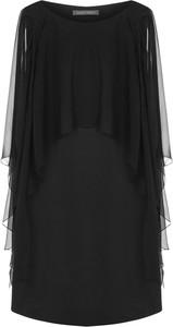 Czarna sukienka Alberta Ferretti