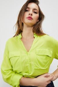 Koszula Moodo w stylu casual z długim rękawem