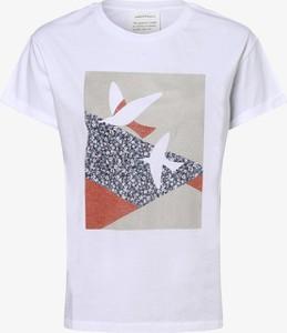 T-shirt ARMEDANGELS w młodzieżowym stylu z bawełny z okrągłym dekoltem