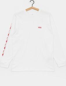 Koszulka z długim rękawem Vans z bawełny z długim rękawem
