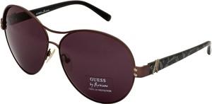 Czarne okulary damskie Guess